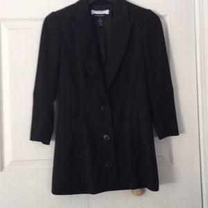 Andrea Behar Boston Proper Black Lined Blazer 4